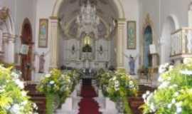 Saquarema - dentro da igreja, Por marleide