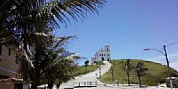 Vista da Igreja de N.Sra.de Nazar� em Saquarema-RJ-Foto:Jose Adal Pereira de�