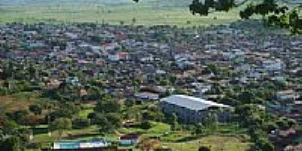 Vista da cidade de Itanh�m-BA-Foto:Achilles Rockstrok C�