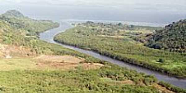 Boca do Rio Suruí-Foto:Ueliton Guimarães