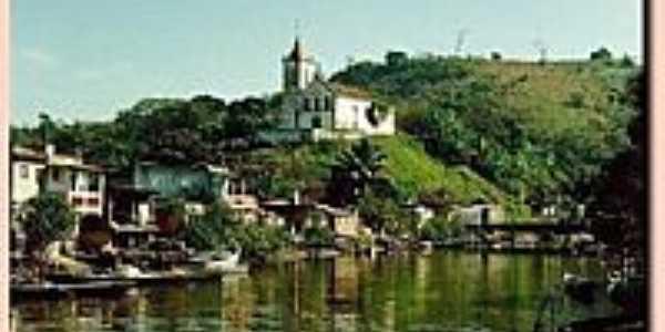 Rio Suruí e Igreja-Foto:luisnet76