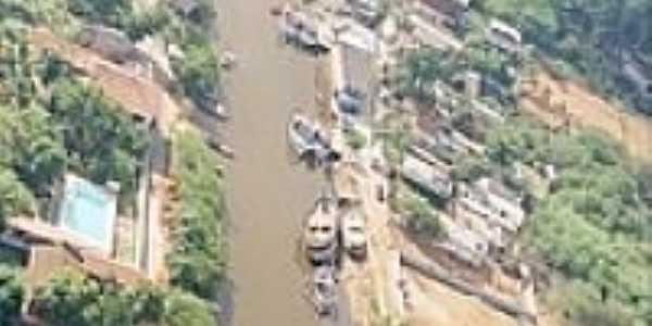 Vista aérea-Foto:Ueliton Guimarães