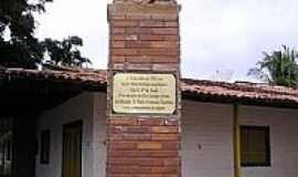 Coruripe - Monumento em homenagem ao Bispo Sardinha-Foto:LinoCardoso