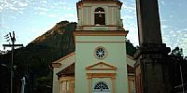 Igreja do Sagrado Cora��o de Jesus em Trajano de Morais-RJ-Foto:Sergio Falcetti