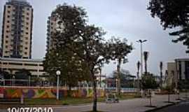Três Rios - Praça São Sebastião em Três Rios-RJ-Foto:Sergio Falcetti