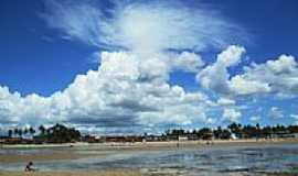 Itaparica - Vista de Barra do Gil em Itaparica-BA-Foto:heberteguedes