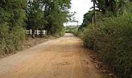 Vargem Alegre - Estrada de terra-Foto:Edna Barros