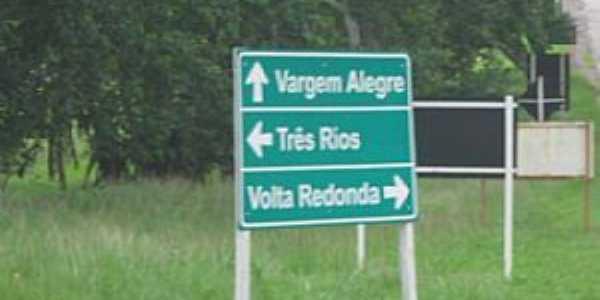 Imagens da localidade de Vargem Alegre - RJ