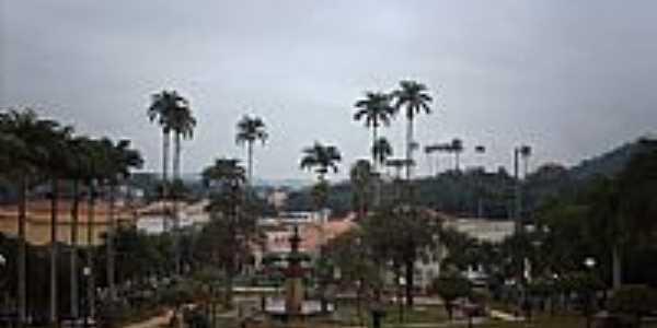 Praça Barão de Campo Belo em Vassouras-RJ-Foto:Sergio Falcetti
