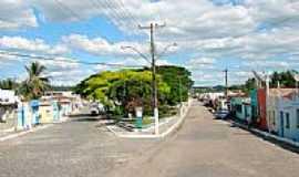 Itapé - Avenida principal de Itapé-BA-Foto:hjobrasil