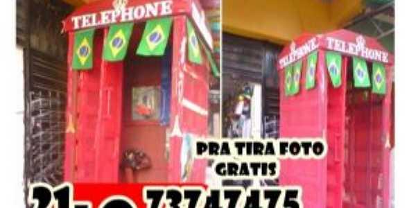 ESSA É A 1º CABINE TELEPHONICA FABRICA EM XERÉM, Por Jorge Pais da Silva. O Vô DE XERÉM