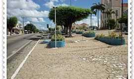 Acari - Acari-RN-Avenida principal-Foto:Blog Sociedade Ativa