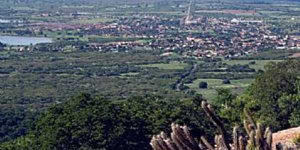 Acari-RN-Vista aérea da cidade-Foto:www.ebah.com.br