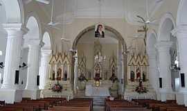 Assú - Assú-RN-Interior da Igreja de São João Batista-Foto:Walter Leite