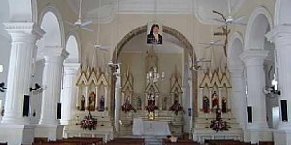 Assú-RN-Interior da Igreja de São João Batista-Foto:Walter Leite