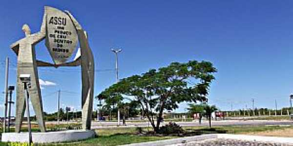 Assú-RN-Pórtico de entrada da cidade-Foto:washington Luiz