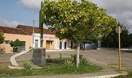 Afonso Bezerra - Afonso Bezerra-RN-Praça no centro-Foto:victorhm
