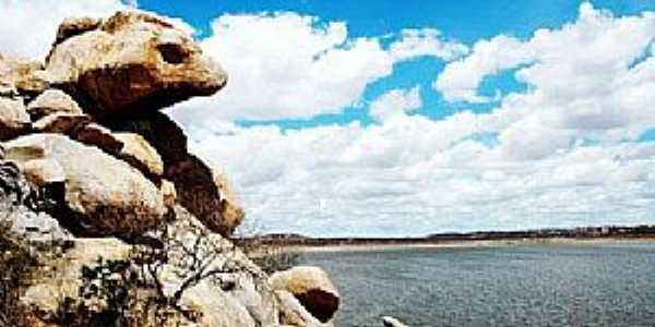 Afonso Bezerra-RN-Vista da Barragem do Boqueirão-Foto:victorhm
