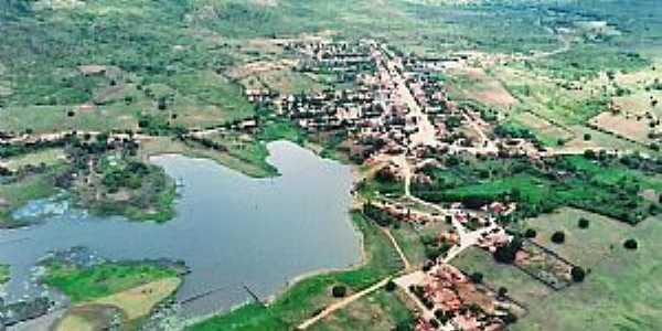 Água Nova-RN-Barragem de Pedras-Cartão Postal da cidade-Foto:Avanilson Lima