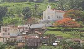Itapebi - Igreja N.S. Conceição Vista do Rio Jequitinhonha Itapebi, por Arnaldo Alves.