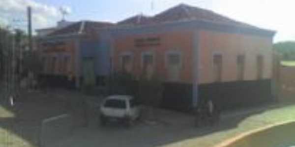 antigo Grupo Escolar Demétrio Lemos, hoje Prefeitura, Por Hermelinda Gomes de Farias