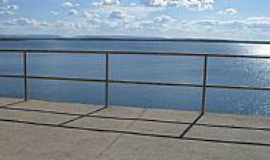 Apodi - Represa da Barragem da Santa Cruz em Apodi-RN-Foto:Marcos-DF