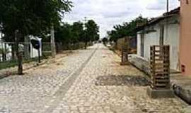 Apodi - Rua do Povoado Baixa do Caic em Apodi-RN-Foto:Marcos-DF