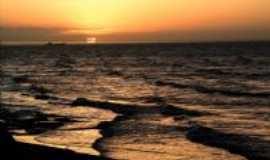 Areia Branca - Por do Sol na Praia de Upanema, Por Lauro Duarte da Costa