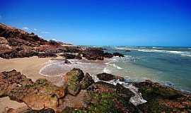"""Areia Branca - Praia de São Cristóvão - Foto """"Voz de Areia Branca"""""""