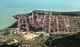 Baía Formosa - Baia Formosa-RN-Vista aérea-Foto:Ronaldo Diniz