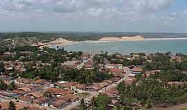 Baía Formosa - Baia Formosa-RN-Vista parcial da cidade-Foto:Verônica Silva