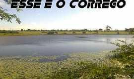 Baía Formosa - Córrego de São Mateus-RN-Açude-Foto:jucienoar