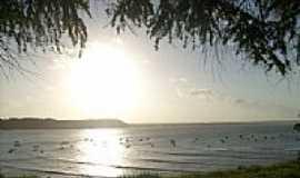 Baía Formosa - Pôr do Sol em Baía Formosa-Foto:Verônica Silva:)