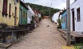 Itapeipu - Itapeipu-BA-Rua do Povoado-Foto:FULERU