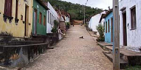 Itapeipu-BA-Rua do Povoado-Foto:FULERU