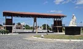Caicó - Pórtico na entrada de cidade Walter Leite