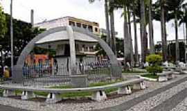 Itapetinga - Praça da Bíblia em Itapetinga-BA-Foto:cerrado