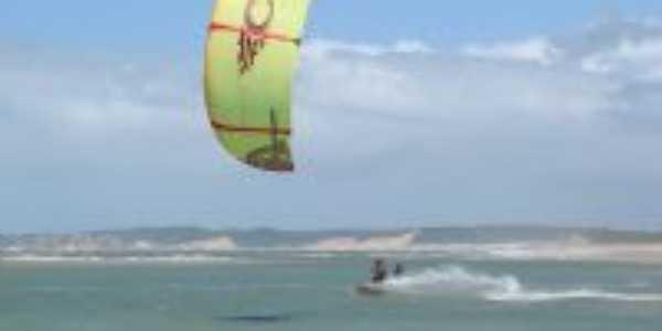 Campeonato Mundial de kite surf na Barra do Cunhaú, Por Adoastro Dantas