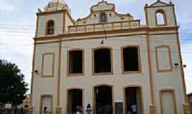 Caraúbas - Igreja Matriz por Walter Leite