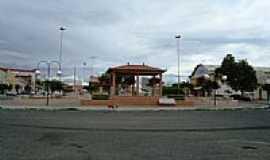 Caraúbas - Praça Central por Walter Leite