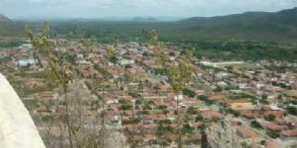 vista de Carnaúba Dos Dantas do monte do galo, Por Joselio França De Medeiros