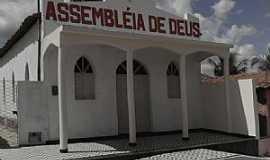 Córrego de São Mateus - Córrego de São Mateus-RN-Igreja da Assembléia de Deus-Foto:Juciê Gomes