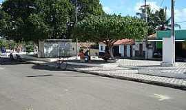 Córrego de São Mateus - Córrego de São Mateus-RN-Praça central-Foto:Juciê Gomes