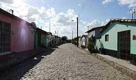 Córrego de São Mateus - Córrego de São Mateus-RN-Rua Chico Gabriel-Foto:Juciê Gomes