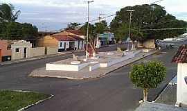Córrego de São Mateus - Córrego de São Mateus-RN-Rua Luiz Francisco de Oliveira-Foto:Juciê Gomes