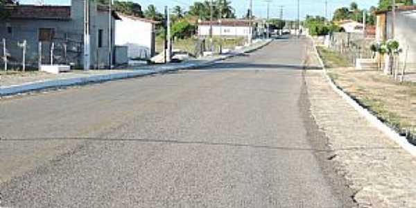 Córrego de São Mateus-RN-Rua Augusto Ferreira-Foto:Juciê Gomes