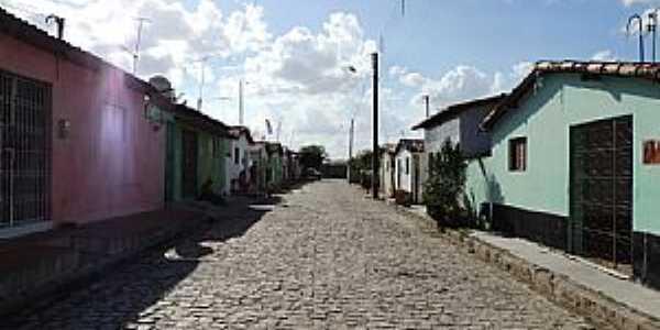 Córrego de São Mateus-RN-Rua Chico Gabriel-Foto:Juciê Gomes
