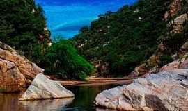 Currais Novos - Currais Novos-RN-Canyon dos Apertados-Foto:Alcides Galina