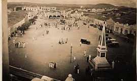 Currais Novos - Currais Novos-RN-Praça Central em 1937