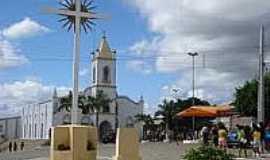 Espírito Santo - Praça e Igreja em Espírito Santo-Foto:marceloabdon.